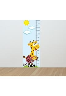 Adesivo Régua De Crescimento Girafa São Paulino (0,50M X 1,50M)