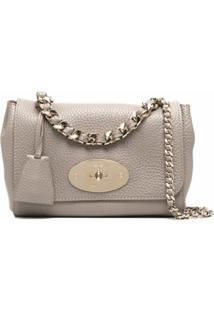 Mulberry Lily Shoulder Bag - Cinza