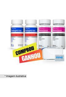 Kit Testopro® + Testofemme® Com Nécessaire & Porta-Cápsulas