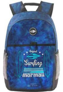Mochila Mormaii Surfing Too - Masculino-Azul