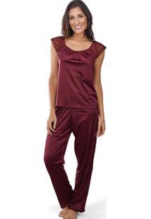 Pijama Longo Arpa Demillus 85123 Vinho Barolo