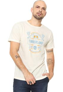 Camiseta Timberland Tbl Brewers Off-White