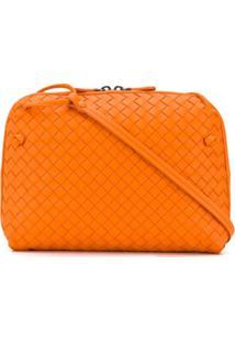 Bottega Veneta Nodini Crossbody Bag - Laranja