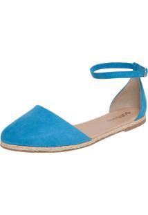 Alpargata Dafiti Shoes Suede Azul