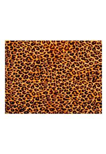 Jogo Americano (Kit 4 Unidades) Nerderia E Lojaria Pele Leopardo Colorido