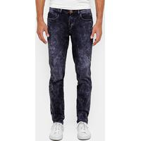 157ad4f99 Calça Jeans Skinny Cavalera Destroyed Estonada Masculina - Masculino-Jeans