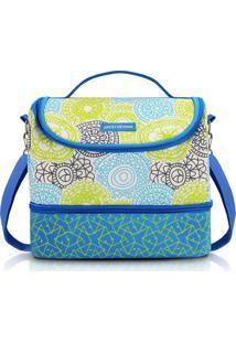 Bolsa Térmica Com 2 Compartimentos Jacki Design Ahl17291 Azul