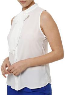 Camisa Regata Feminina Autentique Branco
