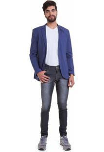 Blazer Versani Masculino - Masculino-Azul