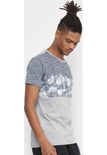 Camiseta Slim Hd Especial Casual-4018A Masculina - Masculino