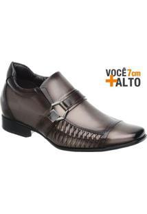 d4ceb33f2 ... Sapato Social Couro Rafarillo Masculino - Masculino-Marrom