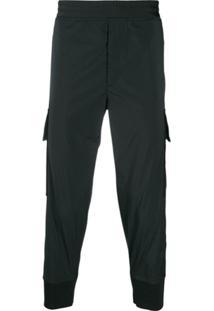 Neil Barrett Elastic Waist Trousers - Preto