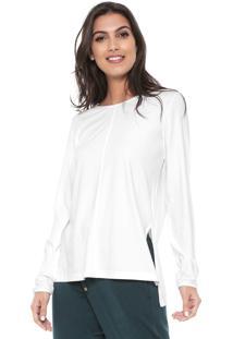 Camiseta Liz Easywear Recorte Branca