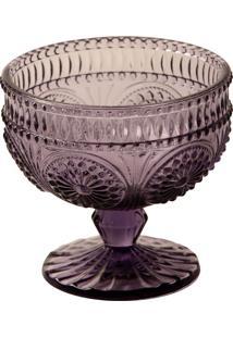 Taça Sobremesa Rome Roxa