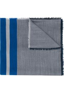 Lanvin Echarpe Listrada - Azul