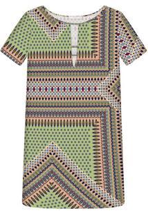 Vestido Recorte Estampa Aussie - Lez A Lez