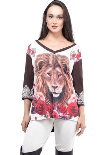 Blusa Bixugrillo Leão