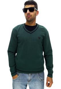 Blusa Fechada Vlcs Unique Sem Capuz Verde
