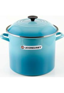 Caldeirão Stock Pot 22Cm Azul Caribe Le Creuset