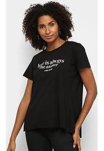 Camiseta Coca Cola Love Feminina - Feminino