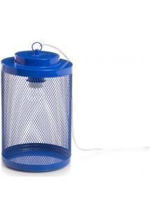 Luminária De Mesa Lanterna - Tam. M - Azul