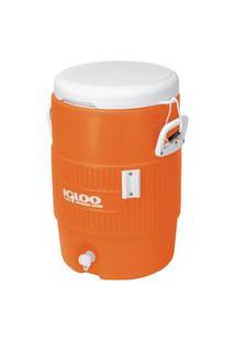 Cooler Térmico Igloo 031260 Gallon 5 Seat Top 18.9 Litros Laranja