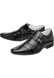Sapato Social Mafisa Verniz - Masculino