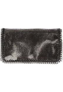 Stella Mccartney Clutch Falabella - Metálico