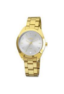 Relógio Condor Feminino Classic Analógico Dourado Coal2035Fbxk4B