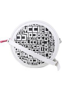 Bolsa Colcci Mini Bag Quebek Full Print Feminina - Feminino-Branco