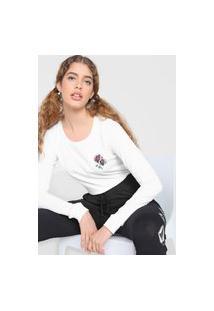 Camiseta Volcom Flower Stone Branca