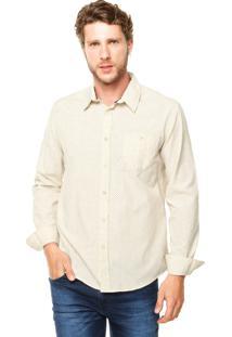 Camisa Sommer Straight Basic Bege