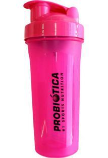 Coqueteleira Probiótica Rosa Com 600 Ml