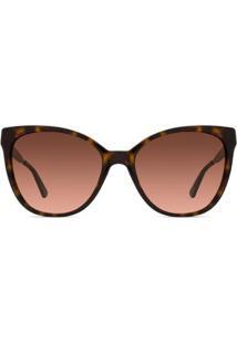 Óculos De Sol Michael Kors Napa Mk Feminino - Feminino-Marrom
