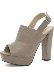 Sandália Sandal Boot Shoes Inbox Meia Pata - Feminino