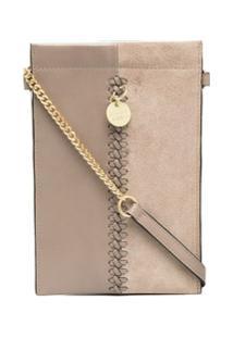 See By Chloé Tilda Phone Crossbody Bag - Cinza