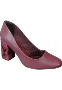Sapato Ramarim - Feminino-Rosa