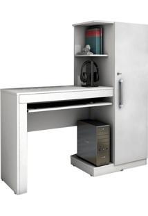 Mesa Para Computador Office 1 Gv Branca