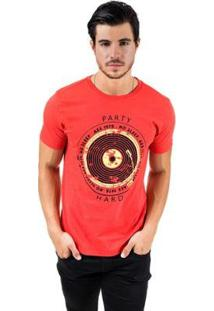 Camiseta Aes 1975 Party Hard Masculina - Masculino