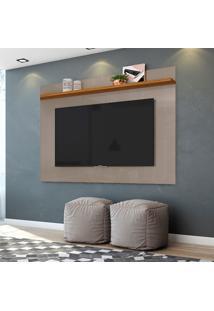 Painel Para Tv Até 60 Polegadas Lorenzo 1.6 Fendi E Naturale