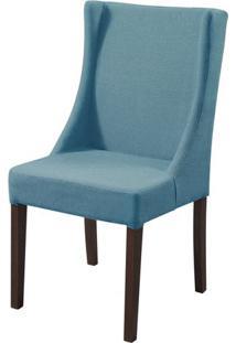 Cadeira Tata Azul Base Tabaco - 50438 - Sun House