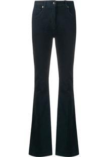 Etro Calça Jeans Bootcut Cintura Alta - Azul