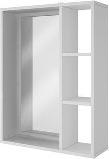 Armário Aéreo Para Banheiro Branco Brv Móveis Bbn 03