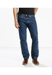 Calça Jeans Original Big & Tall (Plus) Levis - Masculino-Azul