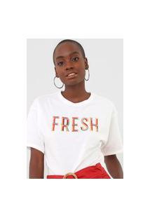 Camiseta Morena Rosa Fresh Off-White