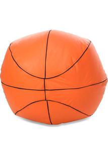 Puff Big Ball Basquete - Stay Puff - Laranja