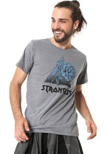 Camiseta Fiveblu Strangest Cinza