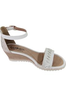 Sandália Ramarim Comfort - Feminino-Branco