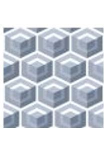Papel De Parede Adesivo Decoração 53X10Cm Azul -W22539