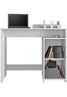 Escrivaninha 1 Porta 1 Nicho Ciranda Candian Jcm Móveis Branco